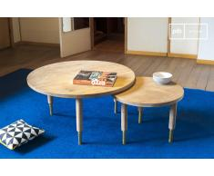 Mesa de centro de estilo escandinavo Messinki