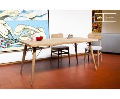 Mesa de madera de estilo vintage Jotün