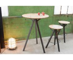 Mesa de bar de estilo vintage Jetson