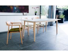 Mesa de madera estilo vintage Fjord