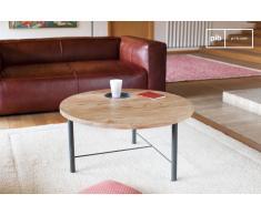 Mesa de centro estilo escandinavo de madera Bascole
