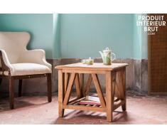 Mesa de centro cuadrada estilo vintage Cadynam
