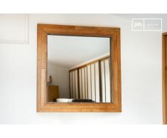 Espejo de madera de estilo shabby chic Sheffield