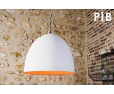 Lámpara Colgante de estilo escandinavo Nölia White