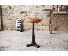 Taburete de bar Tailor con silla de cuero