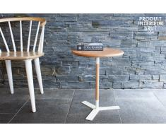 Mesa auxiliar de estilo vintage Ninféa