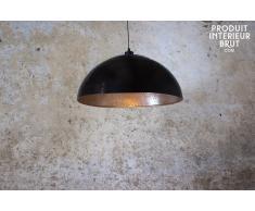 Lámpara de techo metálica de diseño industrial Komais