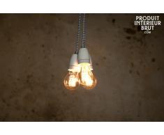 Lámpara colgante estilo vintage de porcelana NUD