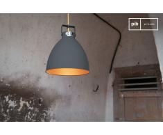 Lámpara colgante Jieldé Augustin de estilo vintage de 24 cm