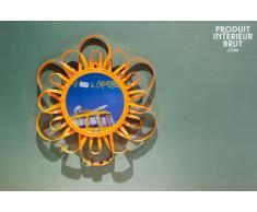 Espejo Naranja estilo shabby chic Aurinko
