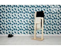 Toallero de madera Sweden de estilo escandinavo