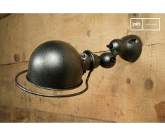 Lámpara de pared Jieldé Loft estilo vintage con acabado martillado