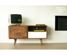 Mesa TV de estilo vintage 1969