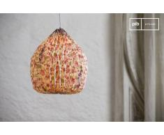 Lámpara colgante de estilo shabby chic Origami