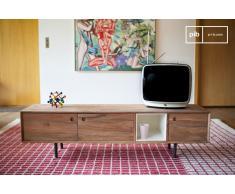 Mueble TV de estilo vintage Bascole