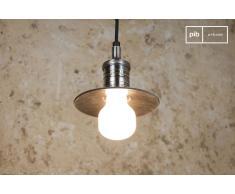 Lámpara colgante de estilo vintage Mini-disco