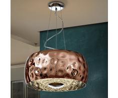 Lámpara Fluvio cobre Ø50