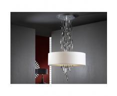 Lámpara de Techo Domo Cromo 4L