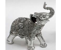 Elefante manta flores mediano