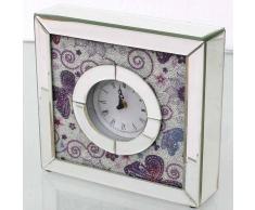Reloj de mesa cristal
