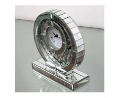 Reloj Red Bolitas espejo