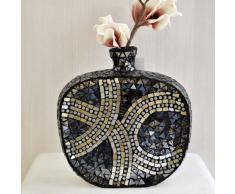 Jarrón redondo mosaico