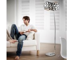 Lámpara de pie Narisa cromo