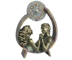 Reloj artesanal pareja