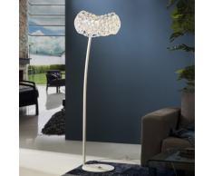 Lámpara de pié 5L Narisa blanco
