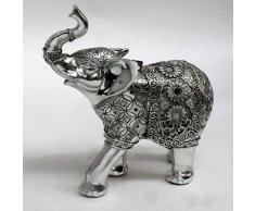 Elefante manta flores pequeño