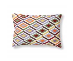 Cojín Tepec, multicolor