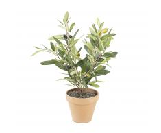 Planta olivo artificial Zelena