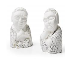 Set figuras decorativas Buddha