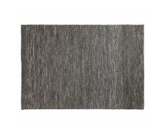Alfombra Lugan, gris oscuro