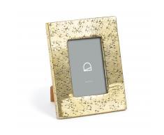 Marco de fotos Clary 18 x 23 cm metal dorado