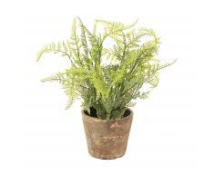 Planta helecho artificial Zelena