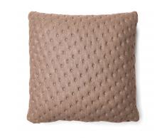 Cojín acolchado Kam, 45x45 cm beige