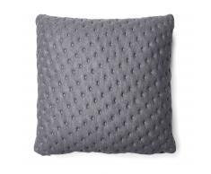 Cojín acolchado Kam, 45x45 cm gris