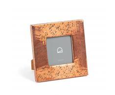 Marco de fotos Clary 18 x 18 cm metal cobre