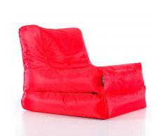 Puf Steno, rojo