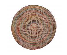 Alfombra Saht Ø 150 cm multicolor