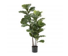 Planta lyrata artificial Zelena