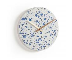 Reloj de pared Alexia azul