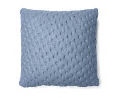 Cojín acolchado Kam, 45x45 cm azul claro
