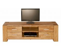 JUSTyou Mighty Mueble para TV Roble silvestre