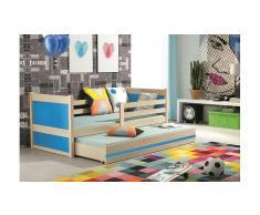 JUSTyou Lora con cama supletoria Cama Pino Azul