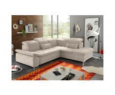 JUSTyou Carson City Sofa esquinero Beige