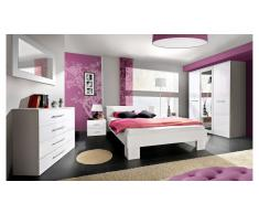 JUSTyou VICKA II Conjunto dormitorio Blanco Blanco