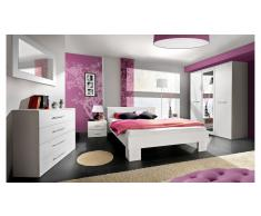 JUSTyou VICKA II Conjunto dormitorio Blanco