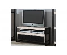 JUSTyou White Manar Mueble para TV Blanco Negro